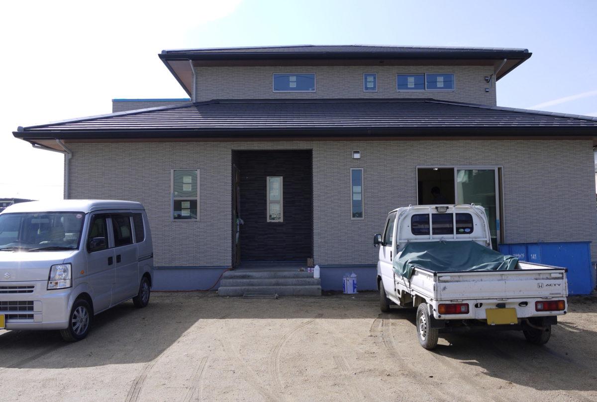 ♯120 洋風外構 K様邸(浅口市)-1