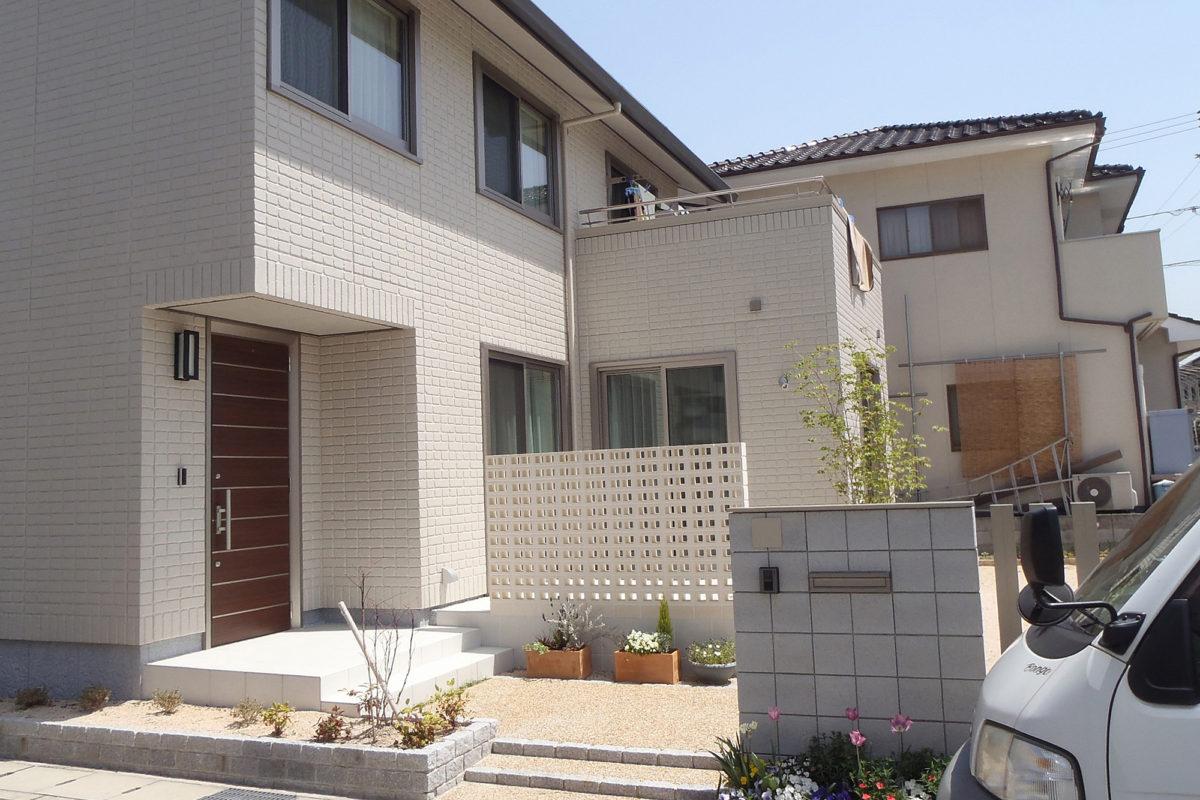 ♯121 シンプル・リフォーム外構 I様邸(倉敷市)-1