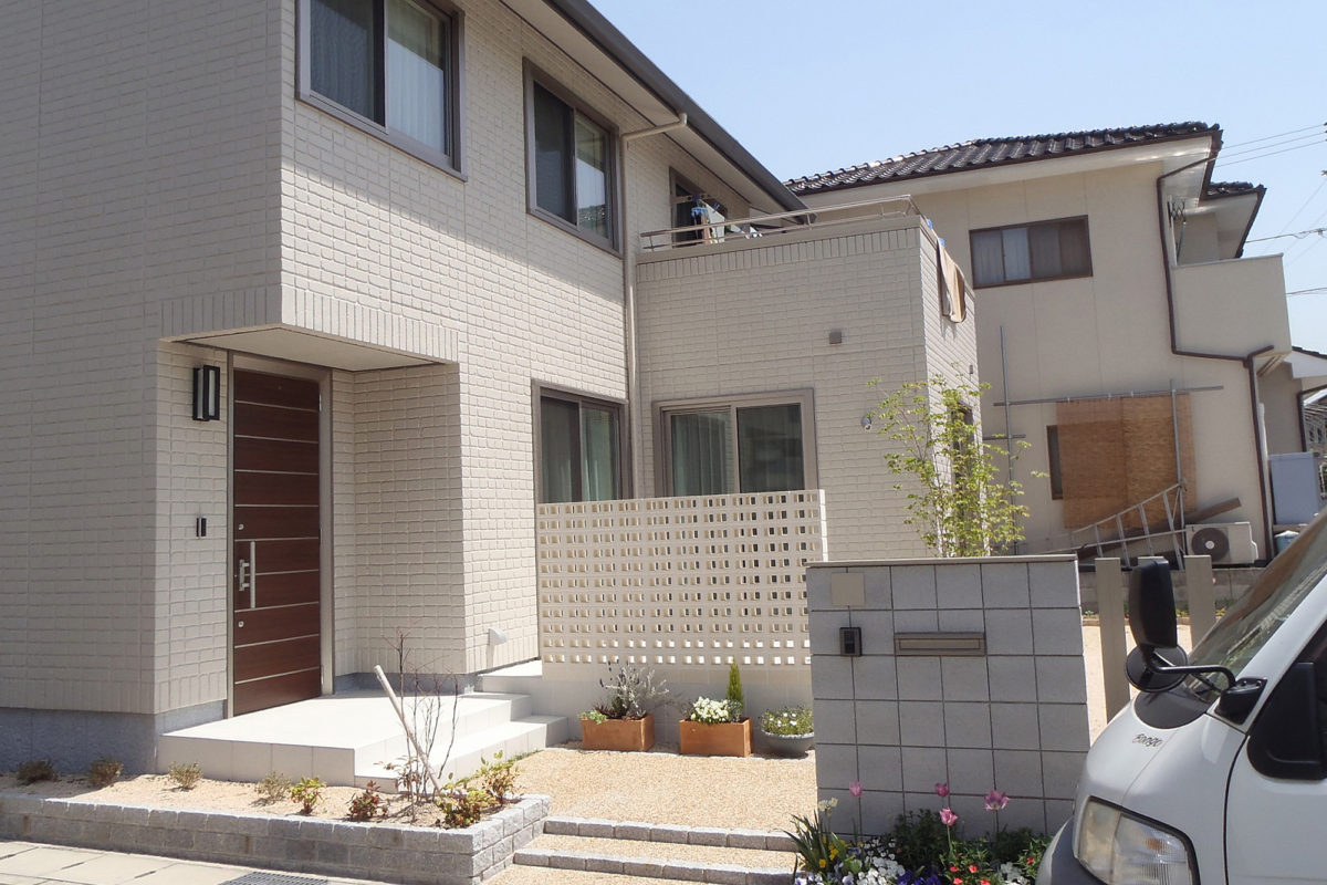 ♯121 シンプル・リフォーム外構 I様邸(倉敷市)コンテスト受賞-1