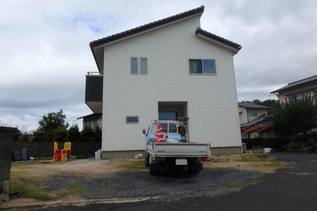 ♯123 スタイリッシュ外構 F様邸(浅口市)-1