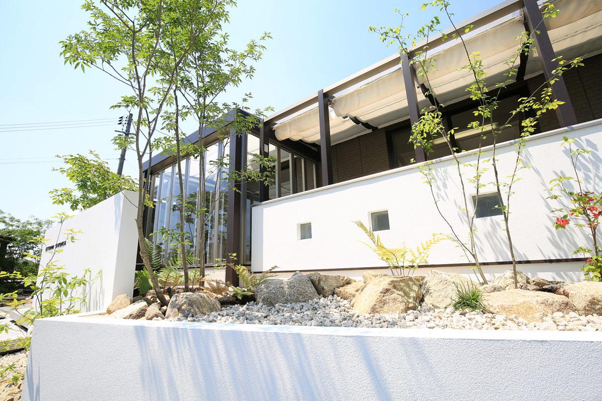 ♯126 ガーデンルーム・リフォーム外構 K様邸(浅口市)-2