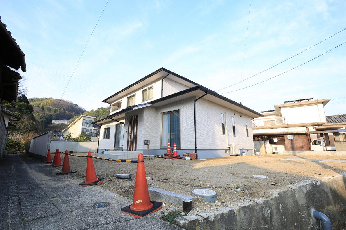 ♯127 シンプルモダン外構 Y様邸(倉敷市)コンテスト受賞-1