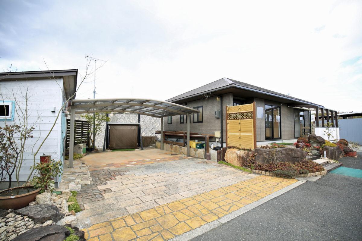 ♯129 シンプルモダン・リフォーム外構 K様邸(浅口市)コンテスト受賞-1