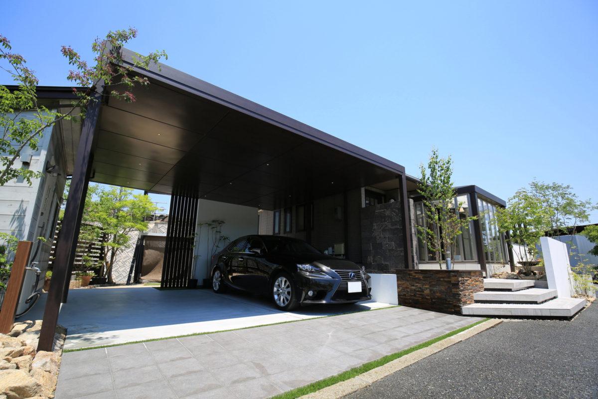 ♯129 シンプルモダン・リフォーム外構 K様邸(浅口市)コンテスト受賞-2