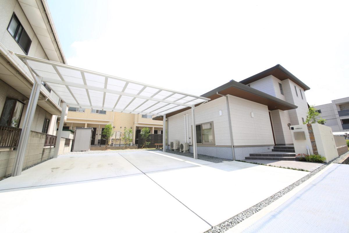 ♯130 ガーデン・シンプルモダン外構 S様邸(倉敷市)-2