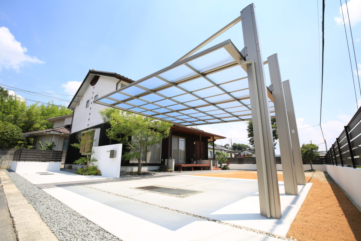 ♯131 リフォーム外構 H様邸(浅口郡)-2