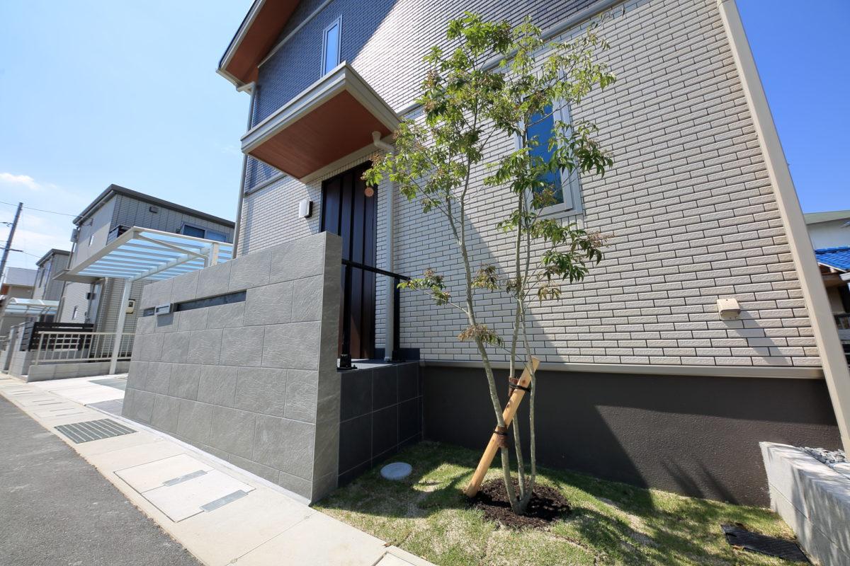 シンプルモダン外構 倉敷市 Y様邸-2