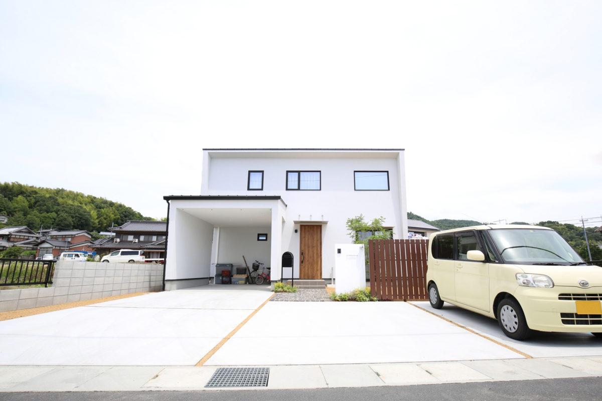 ♯147 ナチュラル外構 N様邸(浅口市)-2