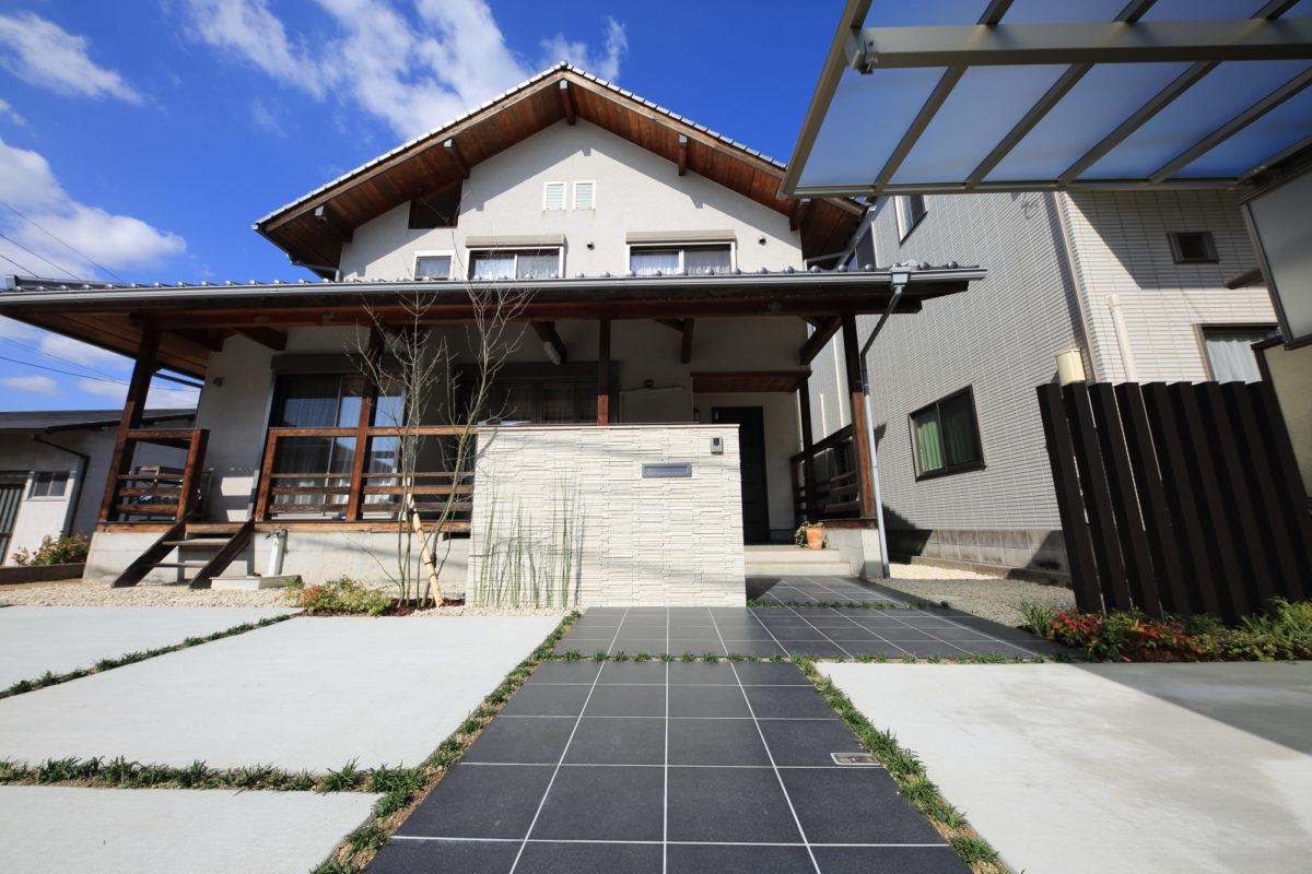 ♯152 リフォーム外構 K様邸(倉敷市)-4