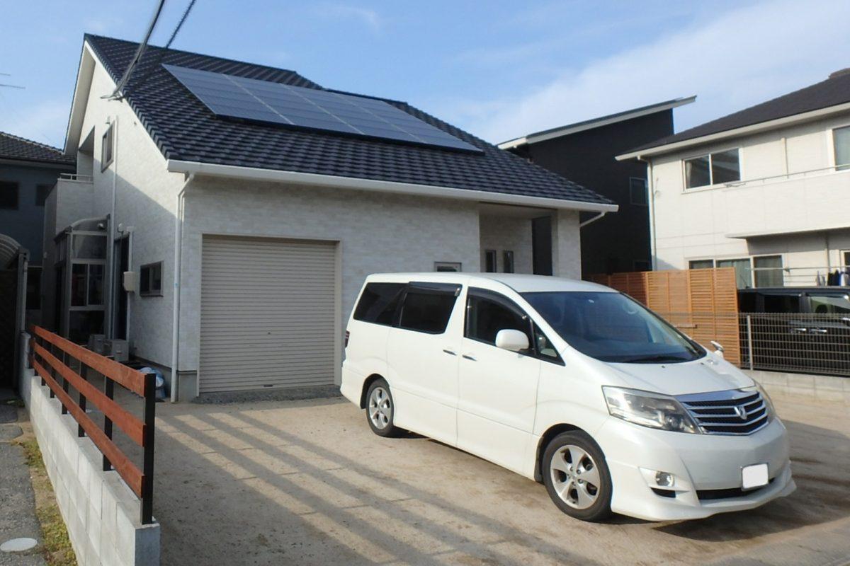 ♯159 シンプル外構 K様邸(倉敷市)-1