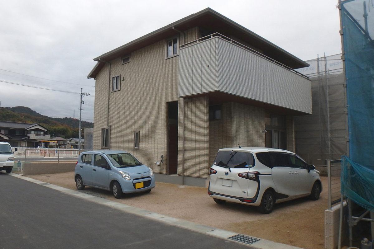 ♯161 シンプル外構 K様邸(浅口市)-1