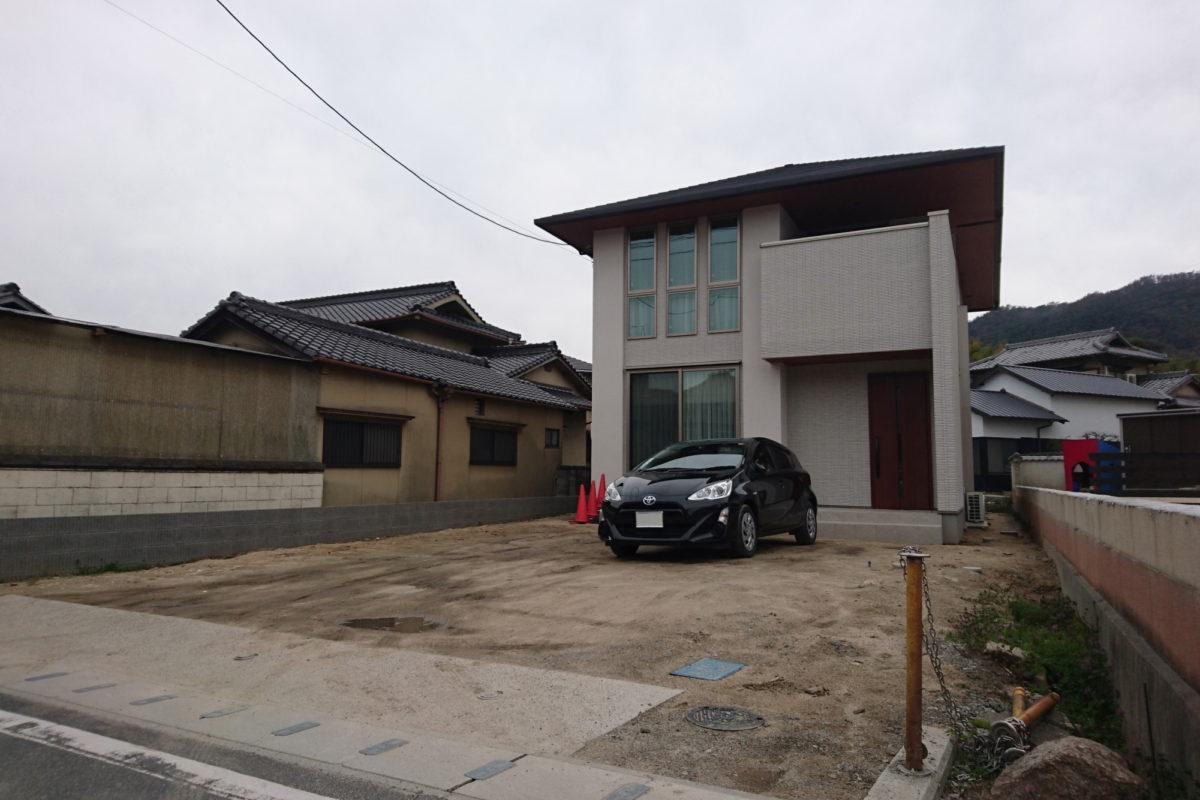 ♯166 シンプルモダン外構 Y様邸(浅口郡)-1