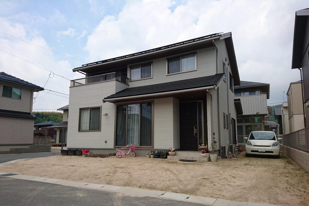 ♯167 シンプル外構 N様邸(浅口市)-1