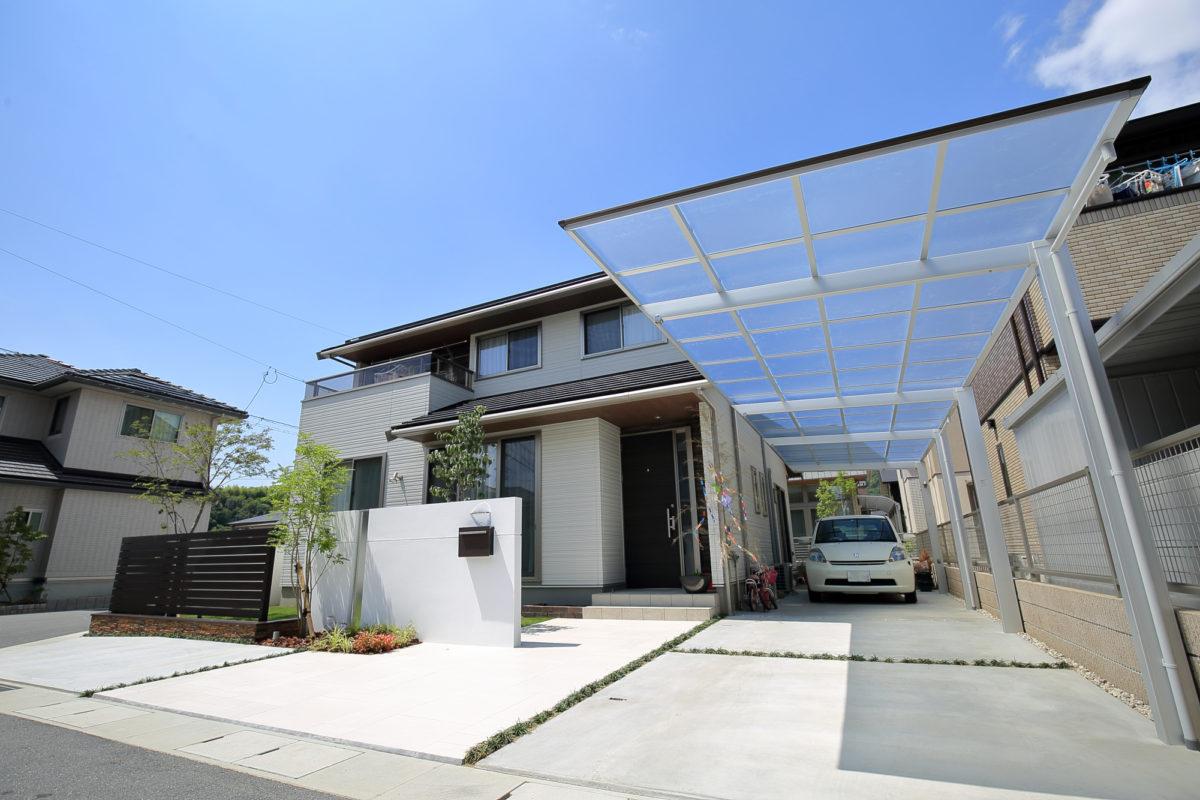 ♯167 ガーデン・シンプル外構 N様邸(浅口市)-2